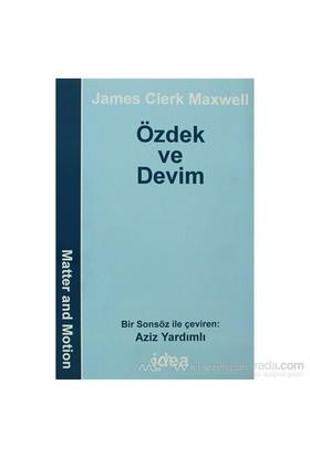 Özdek Ve Devim-James Clerk Maxwell