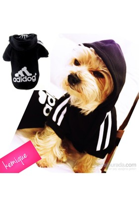Kemique Adidog Sweatshirt Siyah