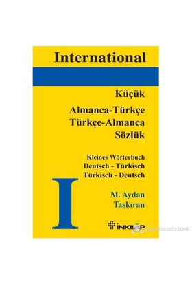 Küçük Almanca-Türkçe Türkçe Almanca Sözlük-M. Aydan Taşkıran