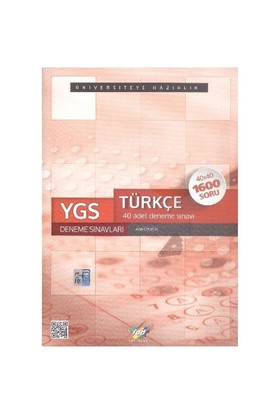 Fdd Ygs Türkçe 40 Deneme Sınavları 40X40 - Adil Özçelik