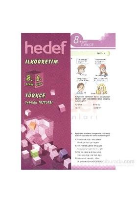 Hedef 8 Türkçe Yaprak Test-Kolektif