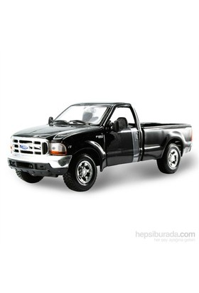 Maisto 1999 Ford F-350 Superduty Pickup Model Araba 1:24 S/E Siyah