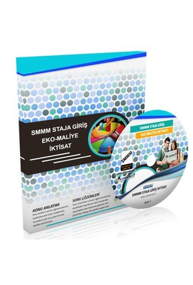Görüntülü Akademi Smmm Staja Giriş İktisat Eğitim Seti 10 Dvd