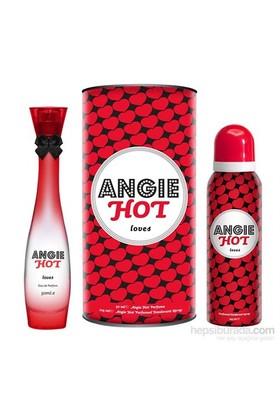 Rebul Angie Hot Loves Edp 50Ml Kadın Parfüm + 150 Ml Deodorant Set