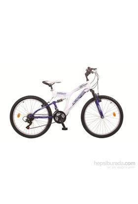 """Orbis 24"""" Dynamic Çift Amortisörlü 21 Vites Lacivert Dağ Bisikleti"""