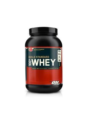 Optimum Nutrition %100 Whey Protein Gold Standart Strawberry (Çilek) 2lbs./ 908 gr