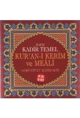 Kuran-ı Kerim ve Meali - Görüntülü Hatim Seti (Hafız Kadir Temel) (30 VCD)