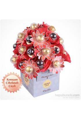 ChocChic Tutkulu Lezzetler Çikolatalı Çiçek