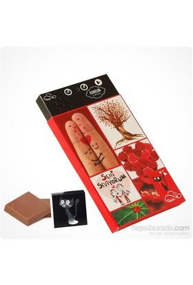 ChocChic Seni Seviyorum Temalı Konuşan Çikolata