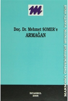 Mehmet Somer'e Armağan