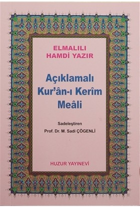 Açıklamalı Kur'an-ı Kerim Meali (Çanta Boy)