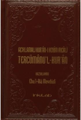Açıklamalı Kur'an-ı Kerim Meali Tercümanu'l-Kur'an (Küçük Boy Deri Kapak)