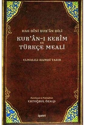 Hak Dini Kur'an Dili Kur'an-ı Kerim ve Türkçe Meali (Büyük Boy)