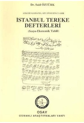 İstanbul Tereke Defterleri