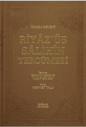 Riyaz'üs Salihin Tercümesi 1-2-3 Cilt (Tek Cilt)