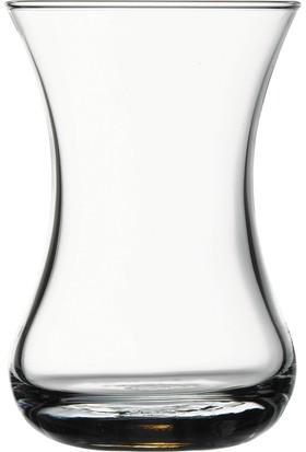 6'Lı İnce Belli Çay Bardağı P42381