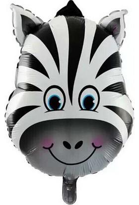 Partibahcesi 24' Zebra Folyo Balon