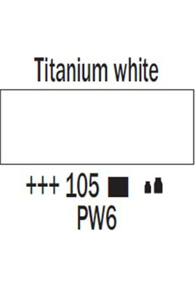 Talens Amsterdam Akrilik Boya 120 Ml 105 Titanium White