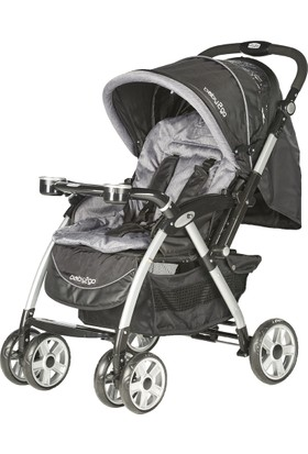 Baby2Go 6025 Carnaval Çift Yönlü Bebek Arabası - Siyah