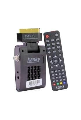 Kanky Mini SD Scart Uydu Alıcısı Tkgs'li
