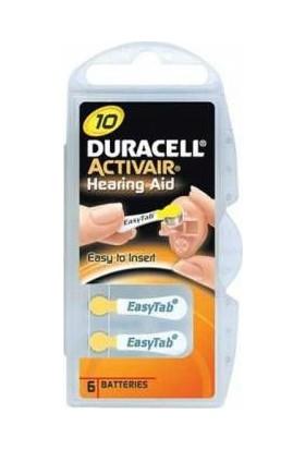 Duracell Activair 10 No Kulaklık Pili 6Lı Paket