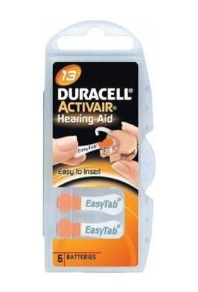 Duracell 13 No Kulaklık Pili 6Lı Paket
