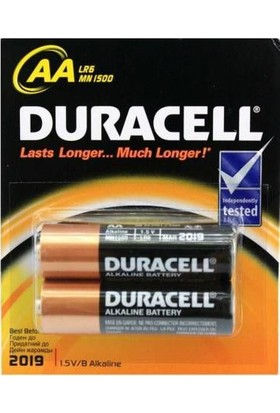 Duracell Alkalin Aa Kalem Pil 2Li Paket