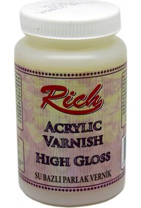 Rich High Gloss Su Bazlı Parlak Vernik 260 cc