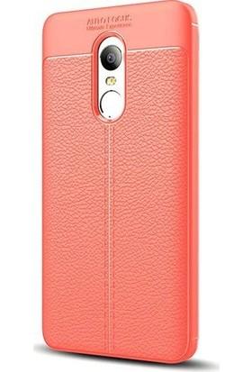 Case 4U Xiaomi Redmi Note 4X Kılıf Niss Tarz Silikon Arka Kapak Kırmızı