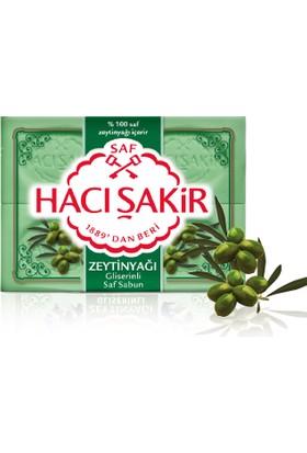 Hacı Şakir Kalıp Sabun Gliserin & Zeytinyağı 4x125GR