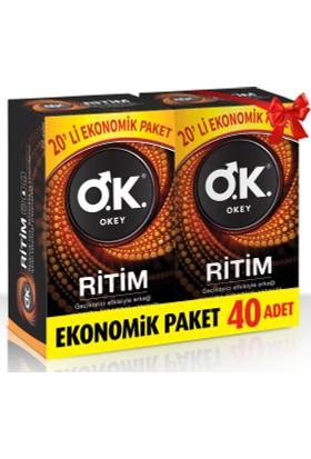Okey Ritim 40'lı Prezervatif Fırsat Paketi