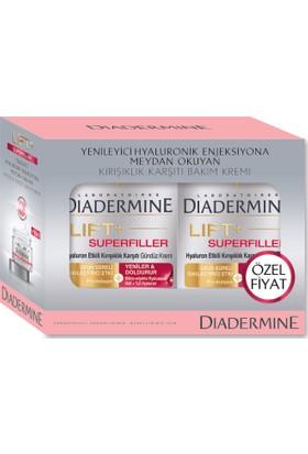 Diadermine Superfiller Gündüz+Gece Kremi 50ML+50ML