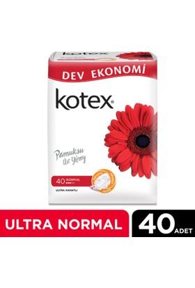 Kotex Ultra Normal Hijyenik Ped (40 Adet) - Dev Ekonomi Paketi