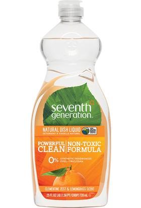 Seventh Generation Doğal Sıvı Bulaşık Deterjanı - Limon otu & Mandalina Kabuğu 739 ml