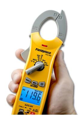 Fieldpiece SC260 Pens Ampermetre