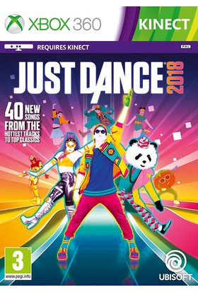 Just Dance 2018 XBOX 360 (Kinect Gerektirir)