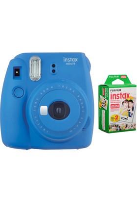 Fujifilm Instax Mini 9 Cobalt Blue + 10'lu Özel Film