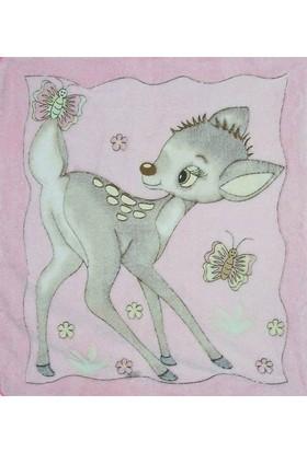 Missemo Ceylan Desenli Polar Battaniye 95 x 80 cm