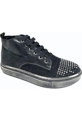Nemesis Shoes Bayan Siyah Nubuk