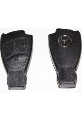 Y3 Mercedes Benz Anahtar Kılıfı 3 Düğmeli