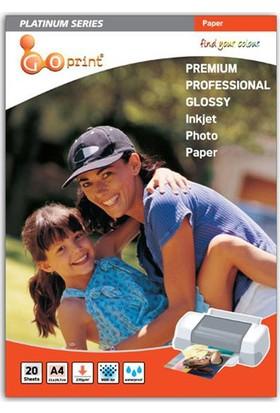 Goprint Platınum Serisi Premium Parlak A4 Fotoğraf Kağıdı 270Gr, Glossy 20 Yaprak