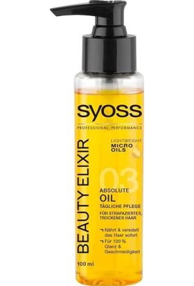 Syoss Beuty Elıxıryıpranmış Ve Kuru Saçlar İçin Bakım Yağ 100Ml