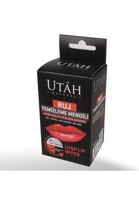Utah Ruj Temizleme Mendili 10 Adet Ultra Güçlü Lipgloss Çıkarıcı