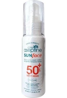 Cire Aseptine Yüz Güneş Koruyucu Losyon Spf 50+ 60Ml