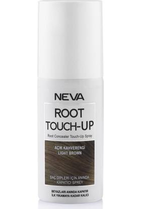 Neva Root Touch-Up Saç Dipleri İçn Kapatıcı Sprey Açık Kahverengi