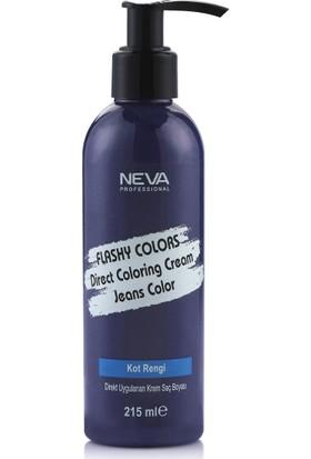 Neva Flashy Colors Kot Rengi Direkt Uygulanan Krem Saç Boyası 215Ml