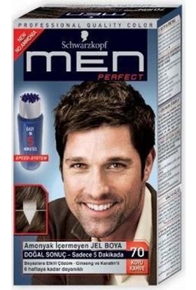Schwarzkopf Men Perfect Erkek Saç Boyası - Koyu Kahve 70