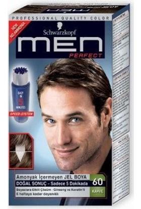 Schwarzkopf Men Perfect Erkek Saç Boyası - Kahve 60