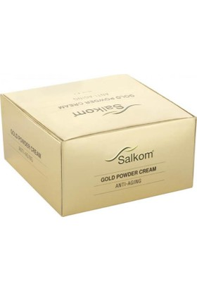 Salkom Gold Powder Cream Anti-Aging 30Ml