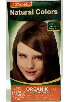 Organıc Natural Colors Saç Boyası 6Kr Çikolata Kahve